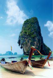 クラビ島タイビーチiPhone6の壁紙