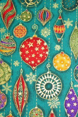 クリスマス装飾パターンiPhone6壁紙