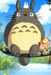 ジブリとなりのトトロアニメiPhone6壁紙