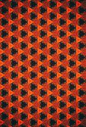 抽象的な花のパターンiPhone6Plus壁紙