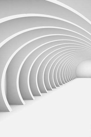 3D回廊iPhoneの壁紙