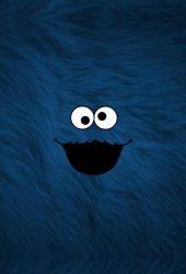 クッキーモンスターiPhone6壁紙