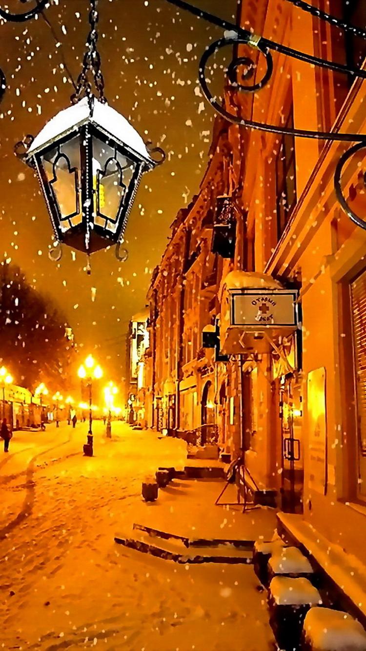 モスクワ冬の夜iphone6壁紙 Iphoneチーズ
