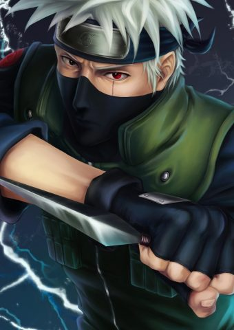 Hatake Kakashi Knife Naruto Manga