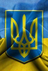 ウクライナの国旗iPhone6 Plus壁紙