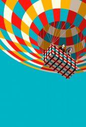 カラフルな熱気球のiPhone 6壁紙