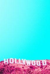 ハリウッドヒルズ・サイン赤外線iPhone8 Plus壁紙