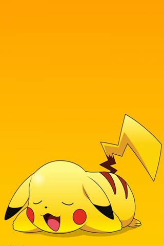 ピカチュウポケモンアニメiPhone7 Plus壁紙