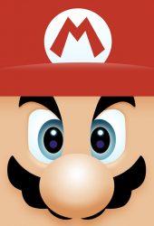 マリオの顔iPhone壁紙