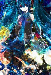 ミク3アニメiPhone6壁紙