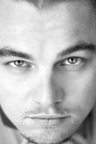 レオナルド・ディカプリオ俳優の顔iPhone6 Plus壁紙