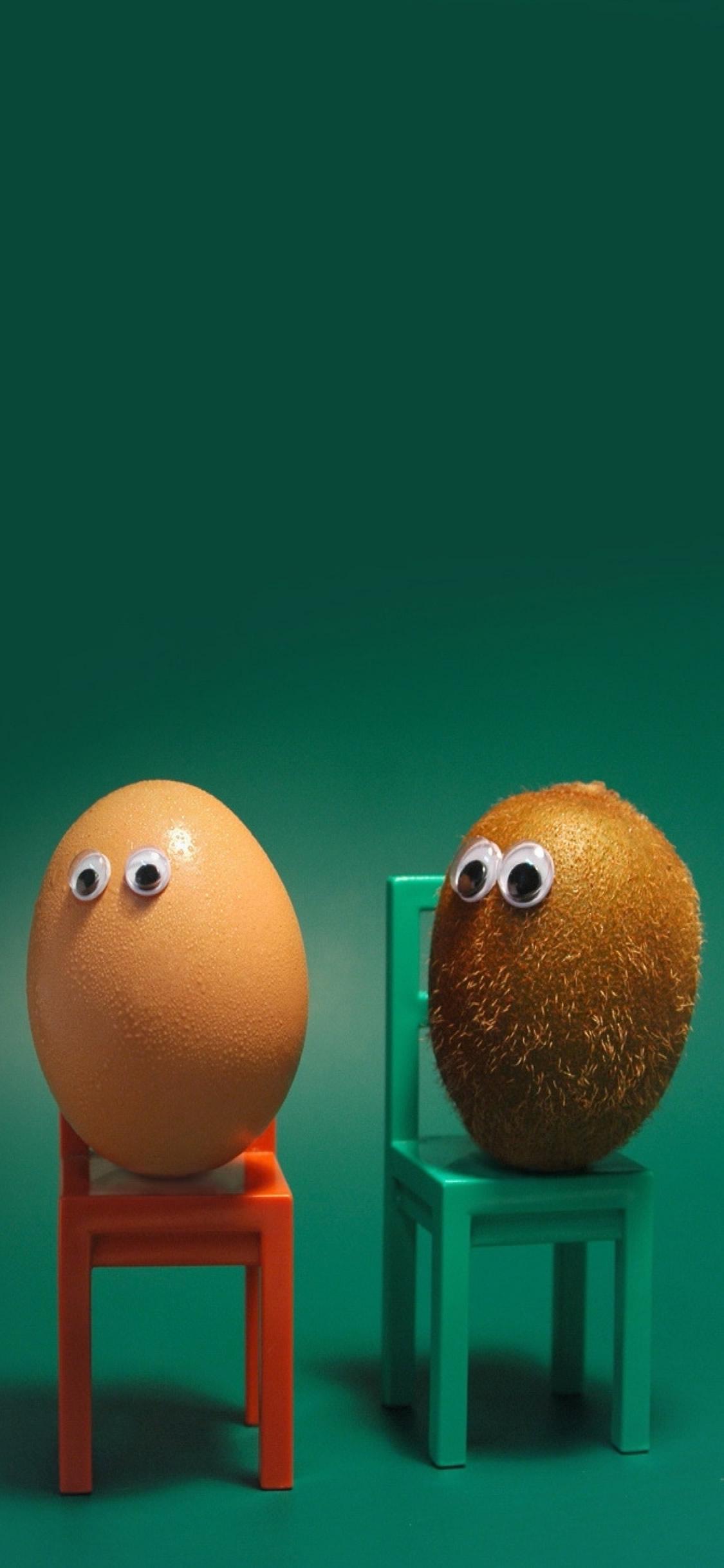 卵キウイフルーツアイズチェアファニー状況iphone X壁紙 Iphoneチーズ
