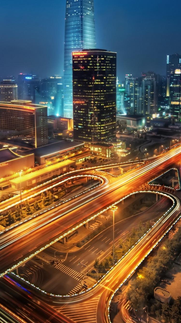 夜の北京中国iphone8壁紙 Iphoneチーズ