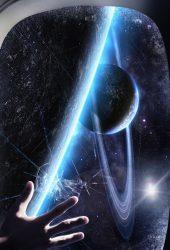 宇宙の惑星の軌道iPhoneX壁紙