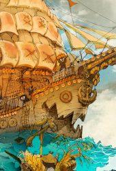 海賊帆船iPhone7壁紙