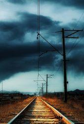 田園地方鉄道嵐iPhone8 Plus壁紙