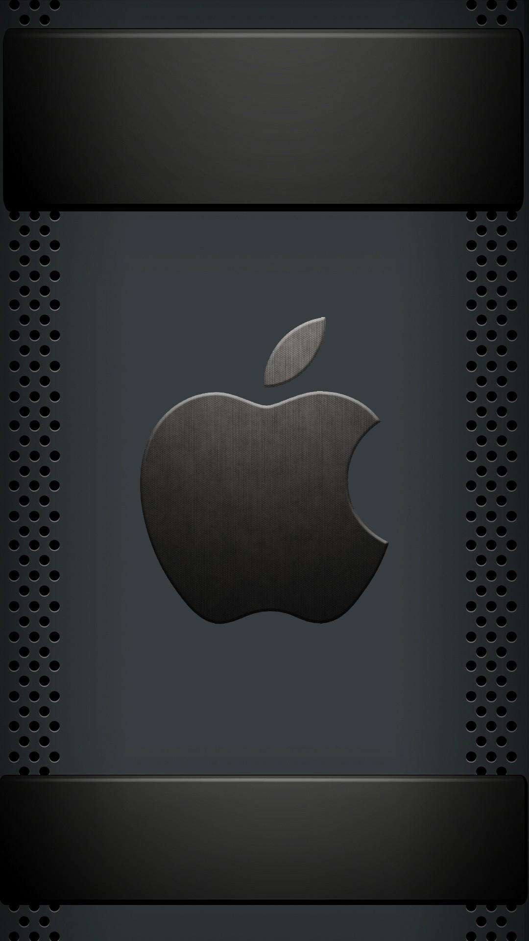 アップルクールブラックロゴiphone 7 8 Plus壁紙 Iphoneチーズ