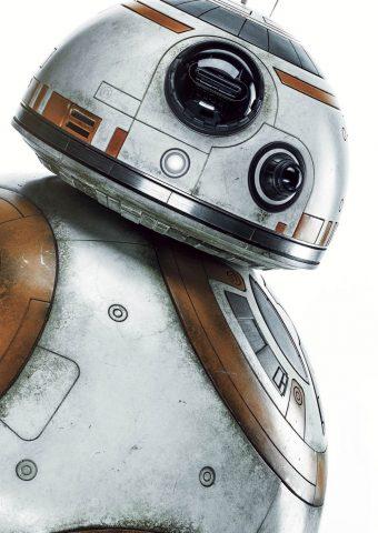 BB-8ドロイドスターウォーズiPhone 7 Plus壁紙