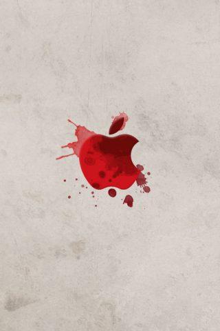 血液アップルiPhone 8 Plus壁紙