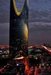 サウジアラビアリヤドシティナイトiPhone6壁紙