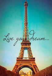 ライブあなたの夢パリエッフェル塔視差iPhone6壁紙
