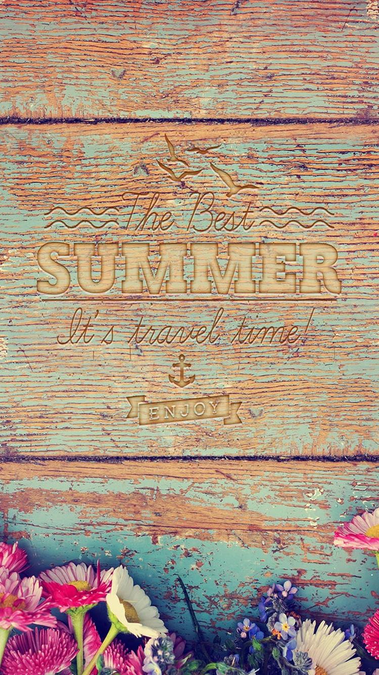 夏の旅行時間ウッドライティングiphone 8 7壁紙 Iphoneチーズ