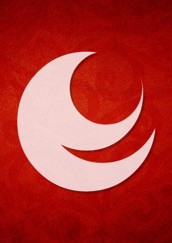 広島県の紋章iPhone6壁紙
