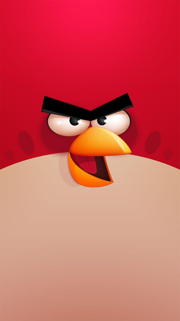 怒っている鳥のゲーム壁紙