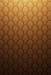ゴールドアンティークの背景パターンiPhone7壁紙