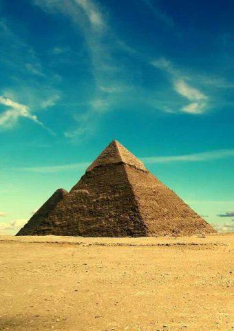 エジプトのピラミッドiPhone壁紙