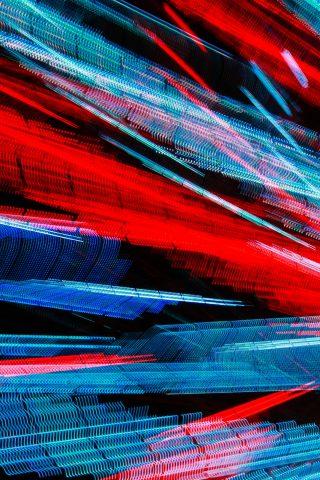 サンタモニカ桟橋ライトiPhone 8 Plus壁紙