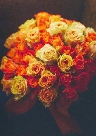 バレンタインギフトアイデアバラ花束ロマンチックiPhone7Plus壁紙
