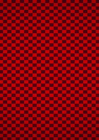 赤いチェックの柄iPhone8壁紙