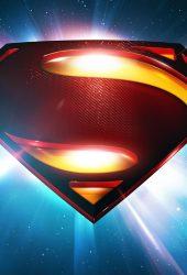 スーパーマンスペースロゴマン・オブ・スティールiPhone5壁紙