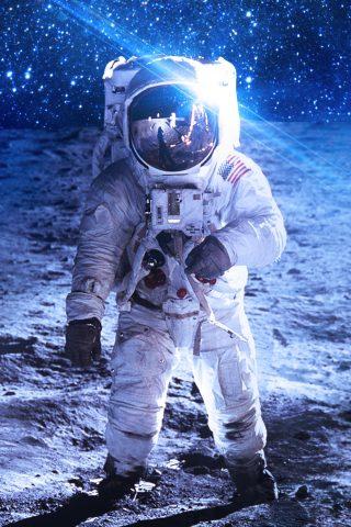宇宙飛行士iPhoneX壁紙