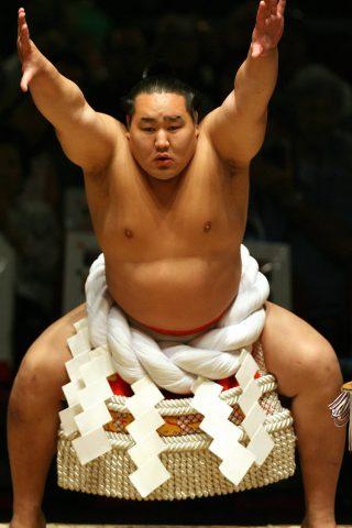 相撲レスラーiPhone6壁紙