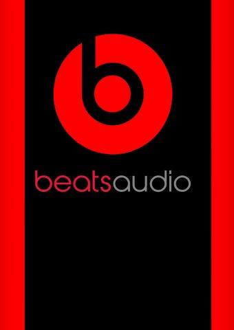 Beats AudioロゴiPhoneX壁紙