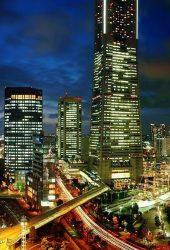 横浜イブニングメトロポリス開発市iPhone8壁紙