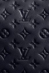 ルイ・ヴィトンモノグラム(ブラック)iPhone8Plus壁紙
