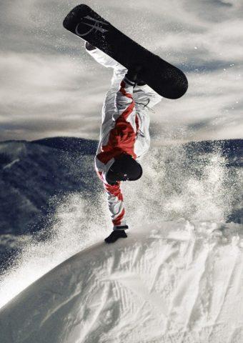 スポーツコロラドスノーボードiPhone5壁紙