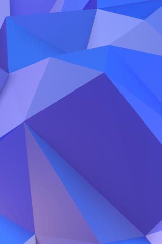 抽象三角形iPhoneX壁紙