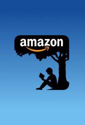 「Amazon Books」アマゾンブックロゴiPhone8壁紙