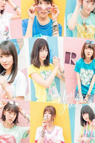 乃木坂46国際ビルボードiPhone6壁紙