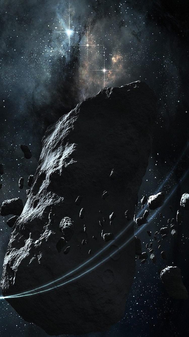 小惑星帯iphone8 スペース壁紙 750 1334 Iphoneチーズ
