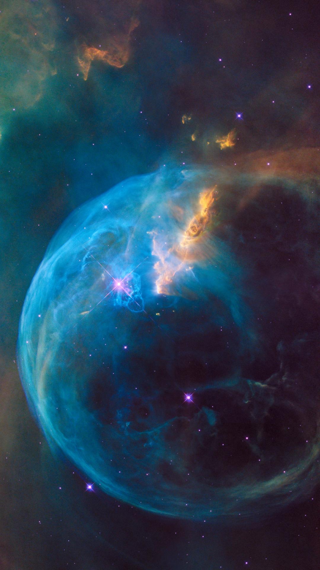 スペース 星雲と宇宙iphone 8 Plus壁紙 1080 1920 Iphoneチーズ