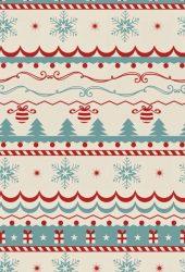 クリスマスセーターテクスチャiPhone6壁紙