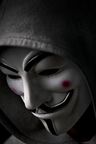 匿名iPhone XS壁紙