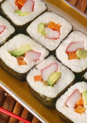 寿司ライス魚料理敷設iPhone 8 Plus/Android壁紙