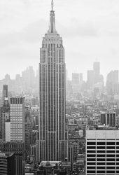 ニューヨークエンパイアステートビルiPhone 6/Android壁紙