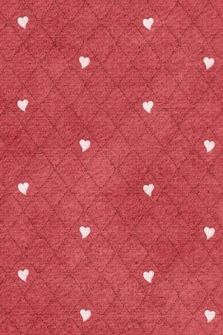 ハーツダイヤモンドパターンiPhone 5/Android壁紙